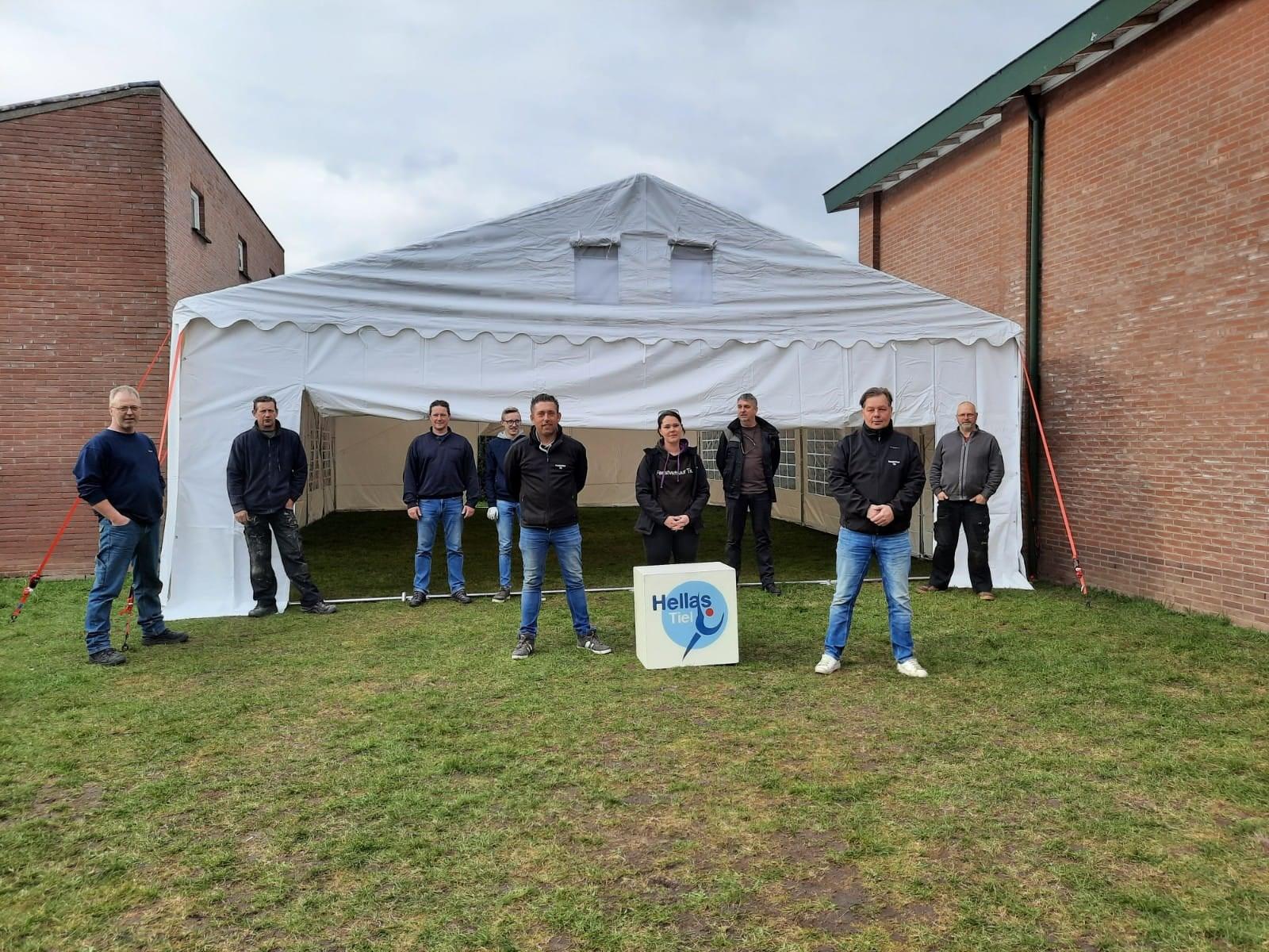 Foto nieuwe tent