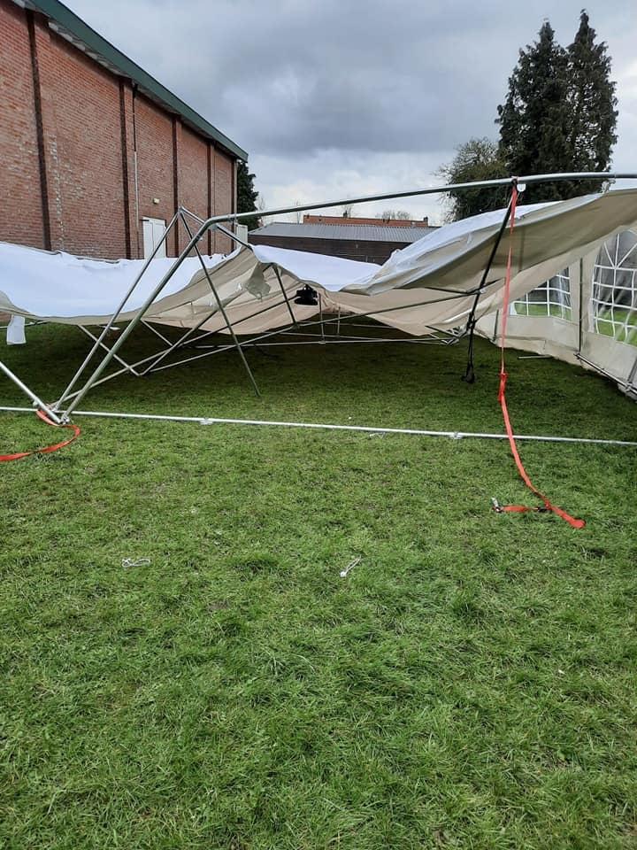 Tent kapot